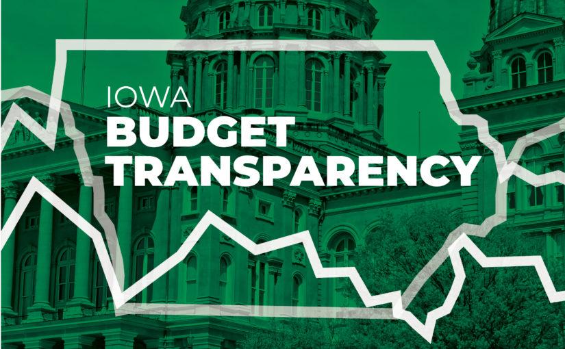 Iowa Budget Transparency