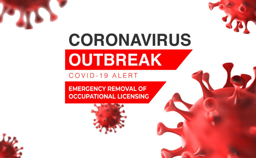 Coronavirus and Occupational Licensing