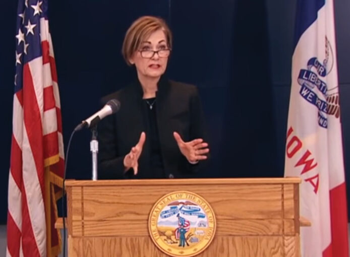 Governor Reynolds: Protecting Iowans